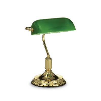 LAMPA DE BIROU LAWYER TL1 OTTONE IDEAL LUX