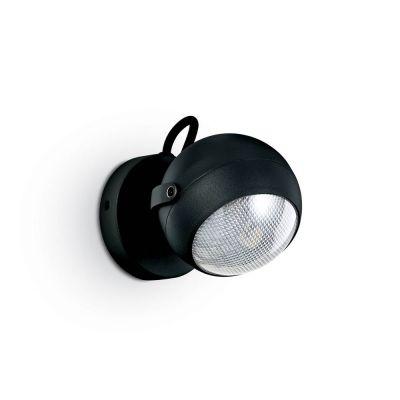 Aplica ZENITH AP1 NERO 108360 Ideal Lux