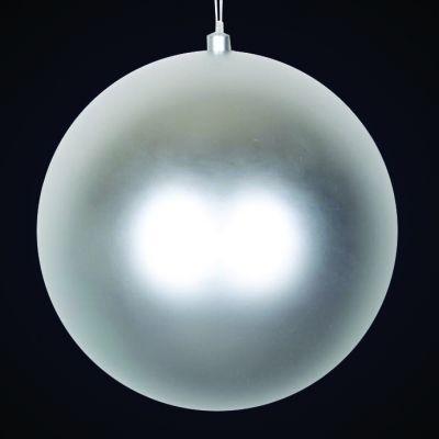 Produs decorativ tip Glob d=30cm argintiu mat