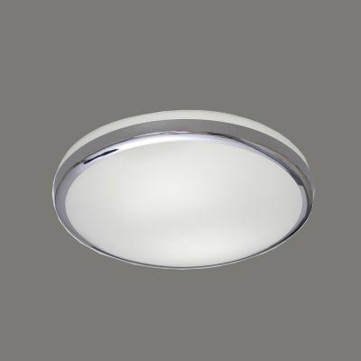 PLAFONIERA ALB OPAL-CROMO 18W LED, 1890LM, 4200K 3236/28 LED ACB