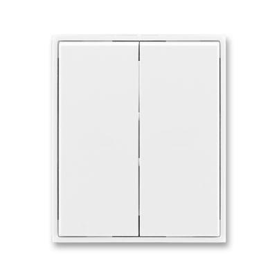 Clapeta comutator alb/alb Time+Element
