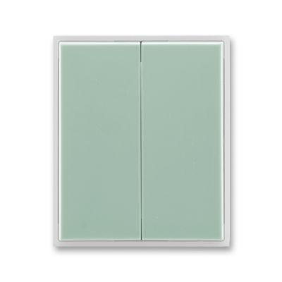 Clapeta comutator verde/alb translucid Time+Element