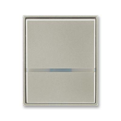 Clapeta intrerupator cu led argint nobil Time+Element