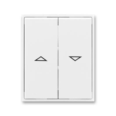 Clapeta comutator pentru jaluzele alb/alb Element+Time