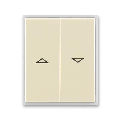Clapeta comutator pentru jaluzele ivoire/alb Element+Time