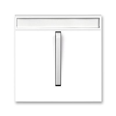 Clapeta intrerupator port eticheta alb/alb fresh Neo