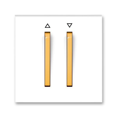 Clapeta comutator pentru jaluzele alb/portocaliu fresh Neo