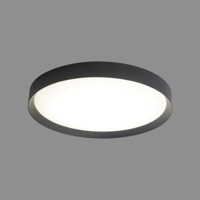 PLAFONIERA MINSK  42W LED, NEGRU