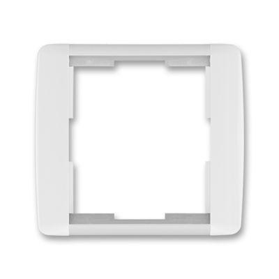 Rama simpla alb/alb translucid Element