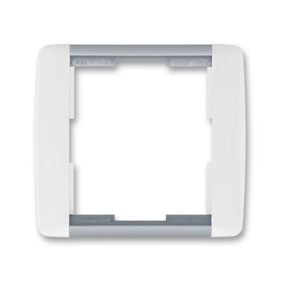 Rama simpla alb/gri Element