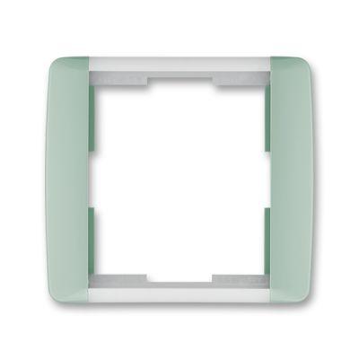 Rama simpla alb/verde translucid Element