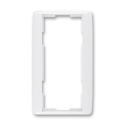 Rama dubla verticala alb/alb Element