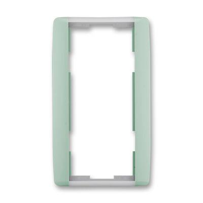 Rama dubla verticala verde/alb translucid Element