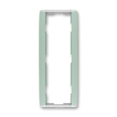 Rama tripla verticala verde/alb translucid Element