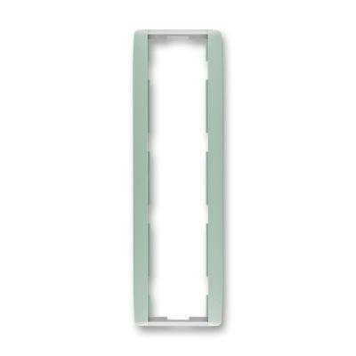 Rama 4 aparataje verticala verde/alb translucid Element