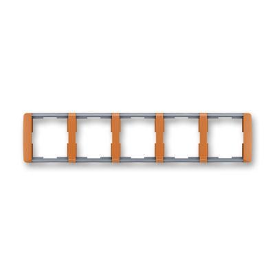 Rama 5 aparataje orizontala caramel/gri translucid Element