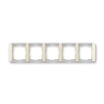 Rama 5 aparataje orizontala ivoire/alb translucid Element