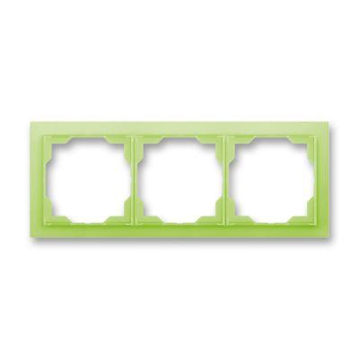 Rama tripla orizontala verde fresh Neo