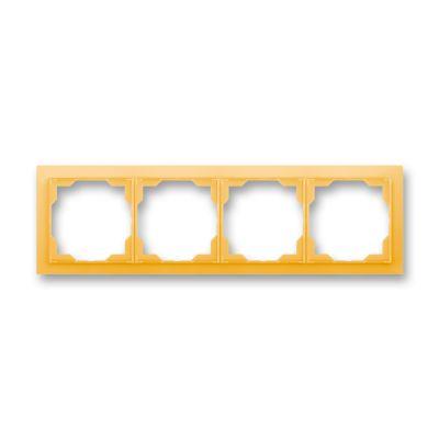 Rama 4 aparataje orizontala portocaliu fresh Neo