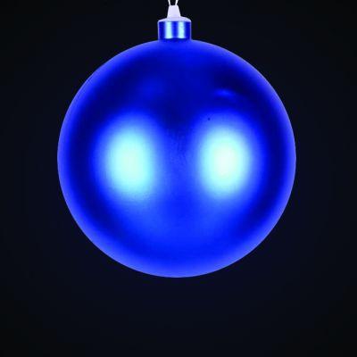 Produs decorativ tip Glob d=38cm albastru mat