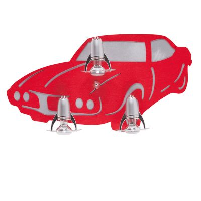 PLAFONIERA AUTO III RED