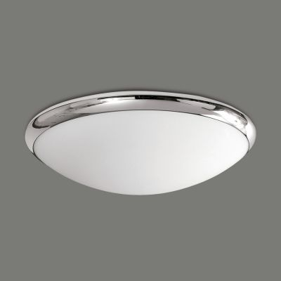 PLAFONIERA ESUS OPAL-CROMO LED 12W, 1100 LM, 3000K