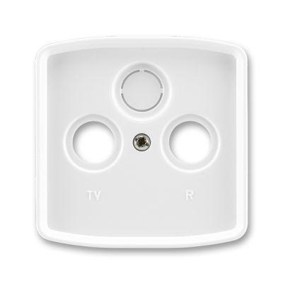 Masca priza TV+R+SAT alb Tango