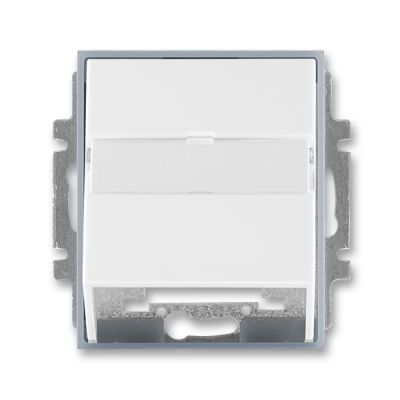 Masca priza comunicatii date alb/gri translucid Time+Element