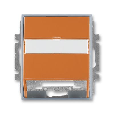 Masca priza comunicatii date caramel/gri translucid Time+Element