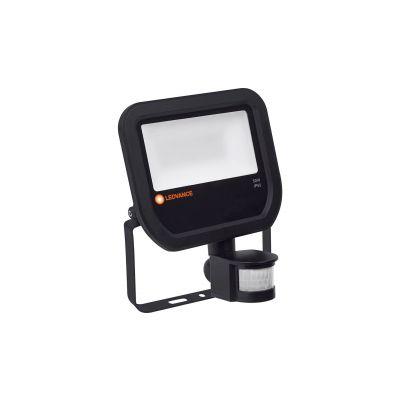 Proiector cu led 50 W negru lumina calda cu senzor Ledvance