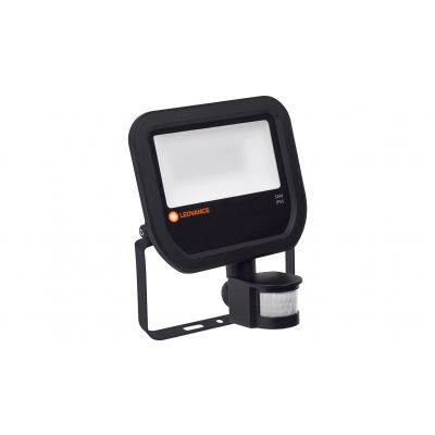 Proiector cu led 50 W negru lumina neutra cu senzor Ledvance