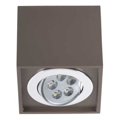 PLAFONIERA BOX LED CHOCOLATE