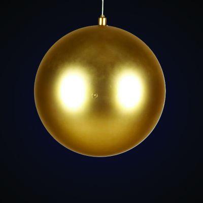Produs decorativ tip Glob d=38cm auriu mat