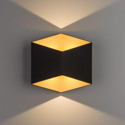 APLICA LED EXTERIOR NEGRU AURIU TRIANGLES 8141 NOWODVORSKI