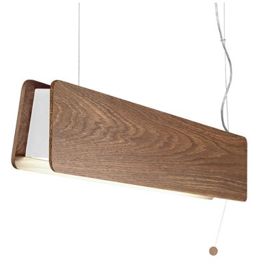PENDUL OSLO, SMOKED OAK COLOR, 1xT8 LED, 11W INCL.