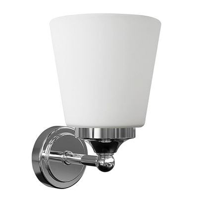 APLICA BALI, WHITE GLASS, 1xE14, IP44