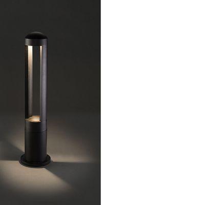 STALP TEPIC LED, BLACK, 9W,3000K, H 62CM, IP54