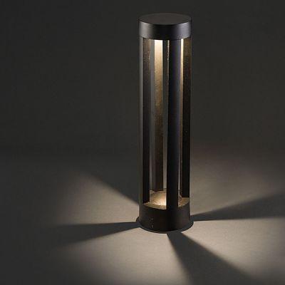 STALP TEPIC LED, BLACK, 9W,3000K, H 43.50CM, IP54