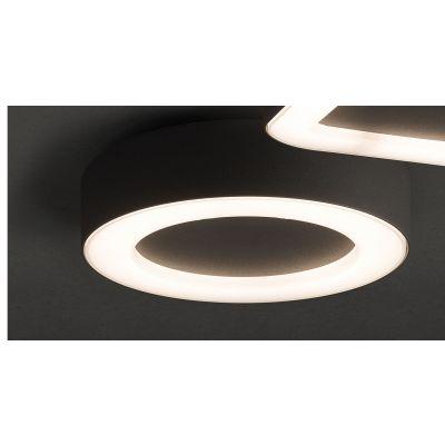 PLAFONIERA MERIDA LED GRAPHITE, 12W, 3000K, IP54