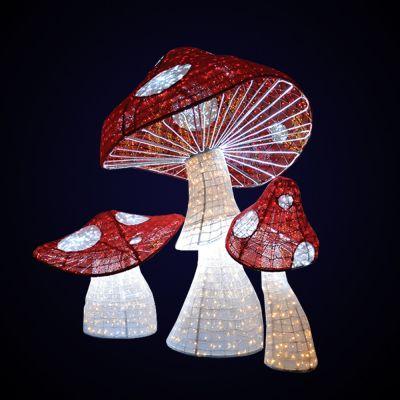 ANSAMBLU  MUSHROOMS 3D