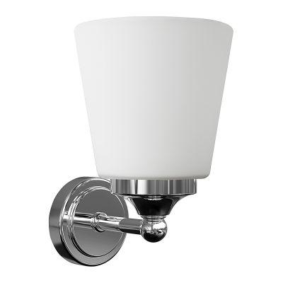 APLICA BALI, WHITE GLASS, 1xE14, IP44 9354 NOWODVORSKI