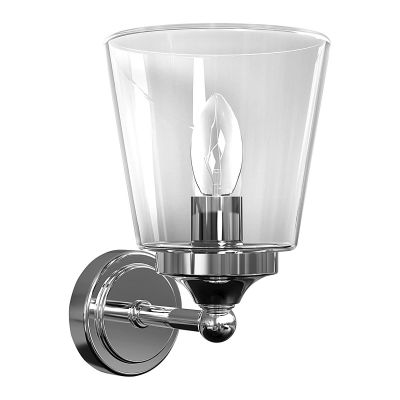 APLICA BALI, TRANSPARENT GLASS, 1xE14, IP44 9353 NOWODVORSKI