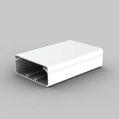 Canal cablu PVC cu capac si margini drepte
