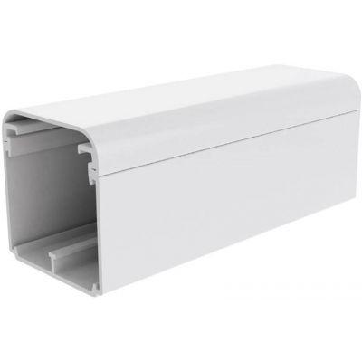 Canal cablu PVC cu capac si margini rotunde