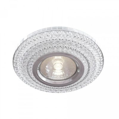 SPOT DOWNLIGHT METAL MODERN, CLEAR GLASS