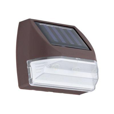 APLICA SOLAR BROWN&CLEAR SHADE, 2xSOLAR-LED EGLO