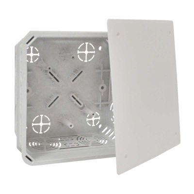 Doza de distributie pentru zidarie 150X150X77 cu capac KO 125 E