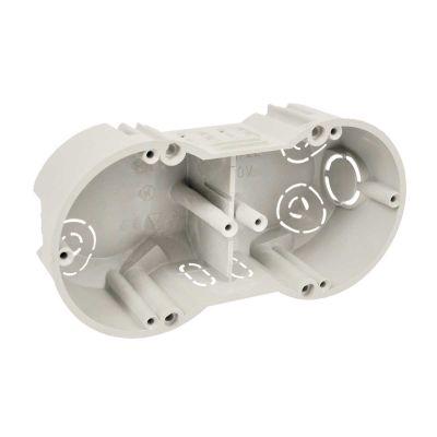 Doza 2 aparate pentru zidarie 142x71x45 mm KP 64/2