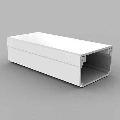 Canal cablu PVC cu capac si margini drepte, latime 40 mm, inaltime 20 mm