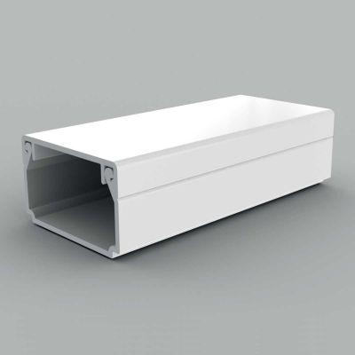 Canal cablu PVC cu capac si margini drepte, 25x15 alb